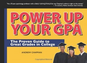 Power Up Your GPA book cover